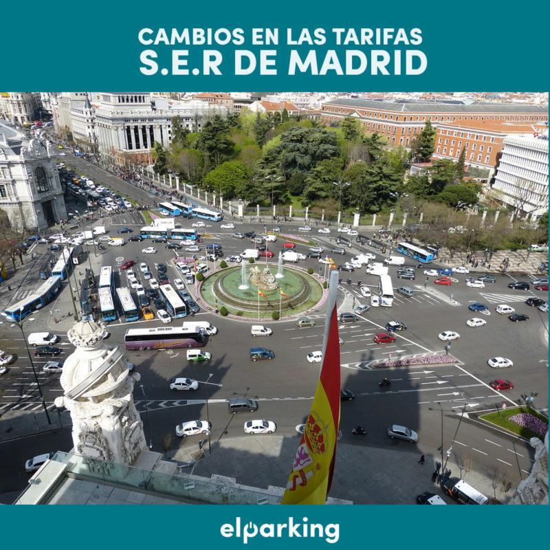 cambios en las tarifas S.E.R. de Madrid