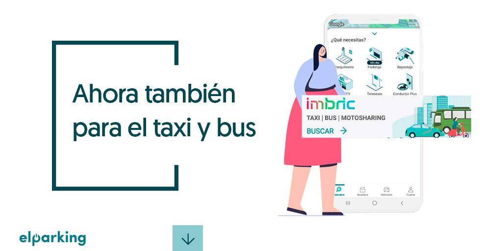 ElParking, bus, taxi