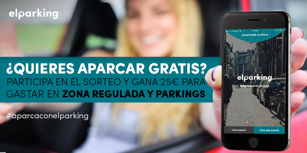 sorteo 25€ para aparcar-ElParking